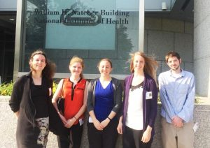 2015 Veterinary Scholars on a field trip to the National Institutes of Health.